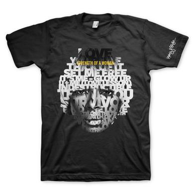 Mary J. Blige Song Portrait T-Shirt