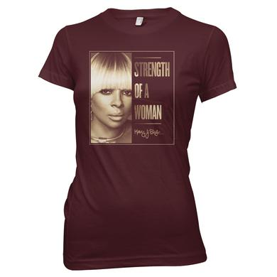 Mary J. Blige Close Up Girls T-Shirt