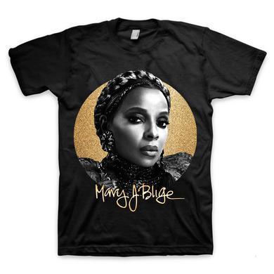 Mary J. Blige Glitter Portrait T-Shirt