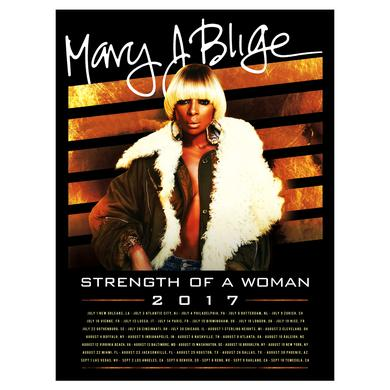 Mary J. Blige Backdrop Lithograph