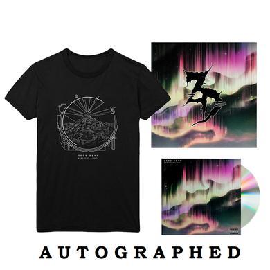 """Zeds Dead Northern Lights CD + 12""""x12"""" Litho + T-Shirt"""