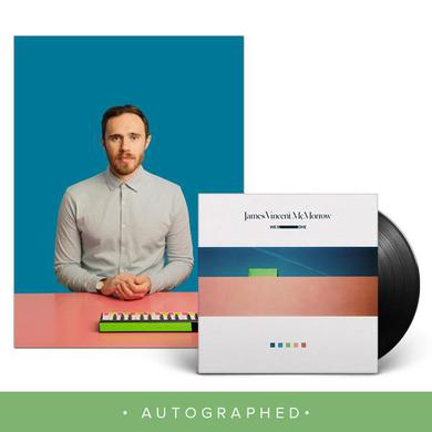 James Vincent Mcmorrow We Move LP + 12x12 Autographed litho (Vinyl)
