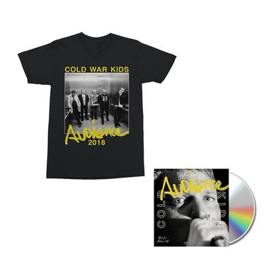 Cold War Kids Audience CD + Digital Album + T-Shirt