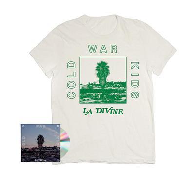 Cold War Kids LA Divine Signed CD + T-Shirt
