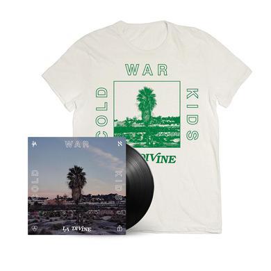 Cold War Kids LA Divine Signed LP + T-Shirt