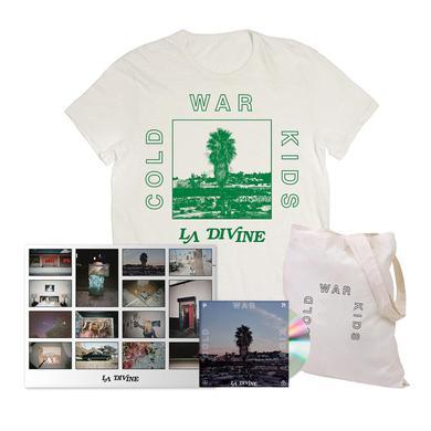 Cold War Kids LA Divine Deluxe Signed CD Bundle