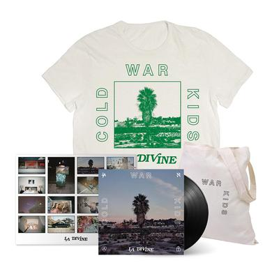 Cold War Kids LA Divine Deluxe Signed LP Bundle (Vinyl)