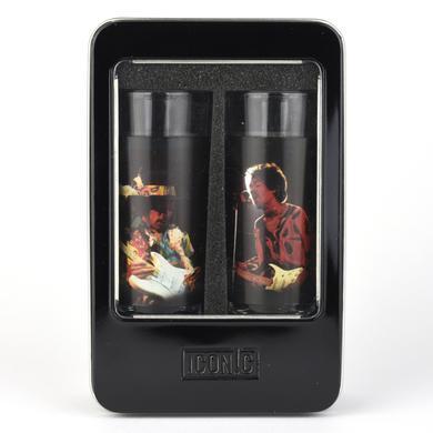Jimi Hendrix Silhouette Shot Glass Set (2 Pack)