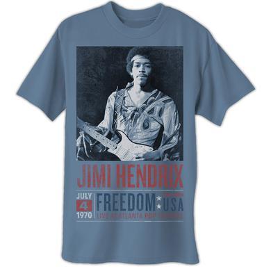 Jimi Hendrix Atlanta Pop Poster T-Shirt