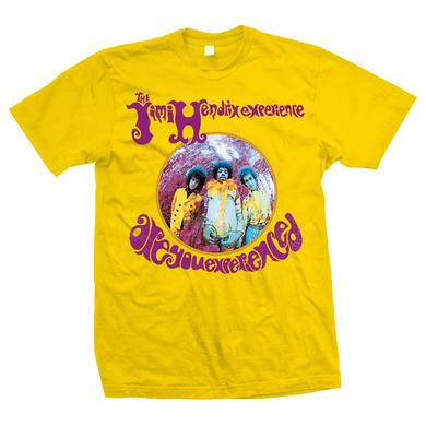 Jimi Hendrix Are You Experienced? Yellow T-Shirt