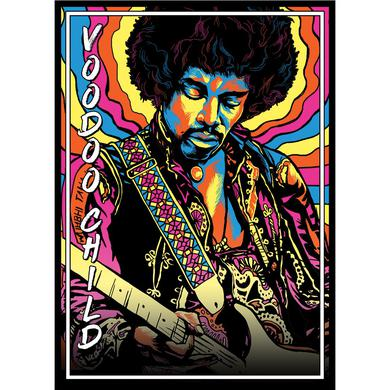 Jimi Hendrix Voodoo Child Lithograph
