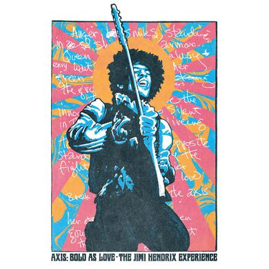 Jimi Hendrix Bold As Love Child Lithograph