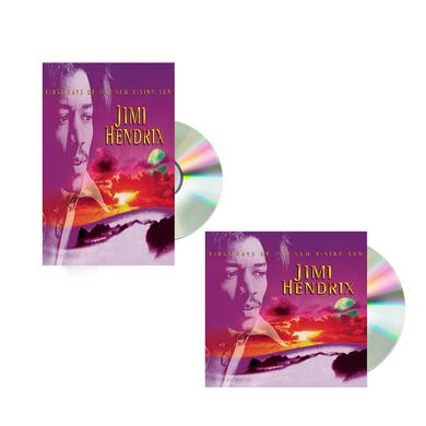 Jimi Hendrix First Rays of the New Rising Sun (Deluxe CD/DVD Set)