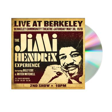 Jimi Hendrix Live At Berkeley CD