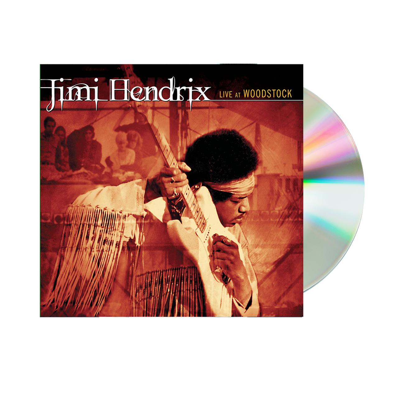 Jimi Hendrix Live At Woodstock 2CD