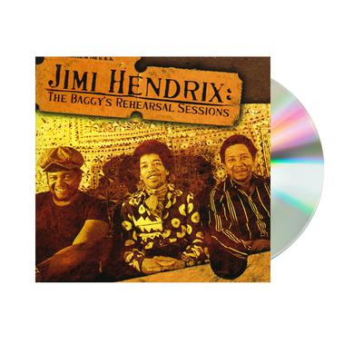 Jimi Hendrix The Baggys Rehearsal Sessions CD