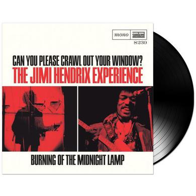 "Jimi Hendrix Can You Please Crawl Out Your Window/Burning Of The Midnight Lamp 7"" LP (Vinyl)"