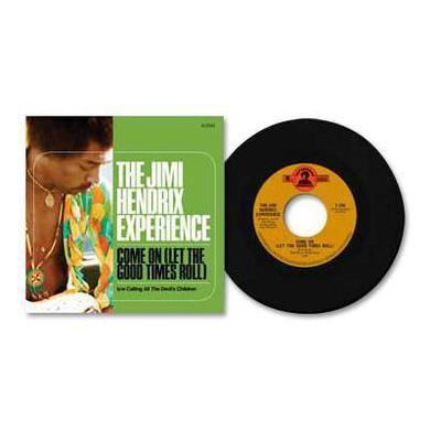 "Jimi Hendrix Come On (Let the Good Times Roll) 7"" LP (Vinyl)"