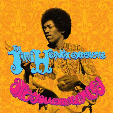 Jimi Hendrix (JHE/AYE - Guitar) Printed Canvas