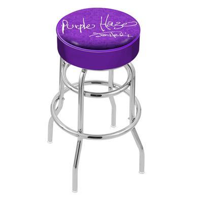Jimi Hendrix Stool (Purple Haze) - Chrome Base