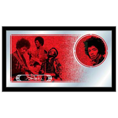 Jimi Hendrix (AYE - Red) Mirror