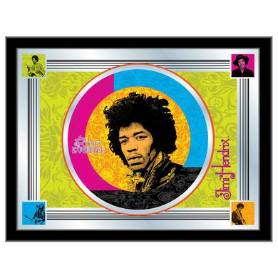 Jimi Hendrix (Multi Color) Mirror