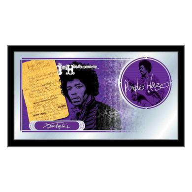 Jimi Hendrix (Purple Haze) Mirror