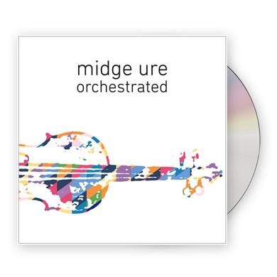 Midge Ure Orchestrated CD Album (Standard Edition) CD