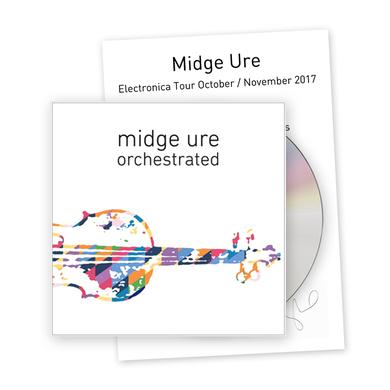 Midge Ure Orchestrated Deluxe Bundle - CD CD
