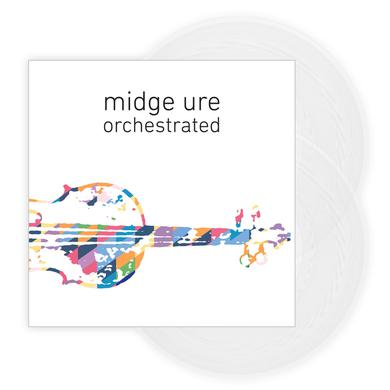 Midge Ure Orchestrated Clear Gatefold Double Vinyl LP (Signed) Double LP