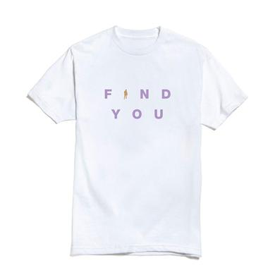 Nick Jonas Find You Bold T-shirt (White) + Digital Single