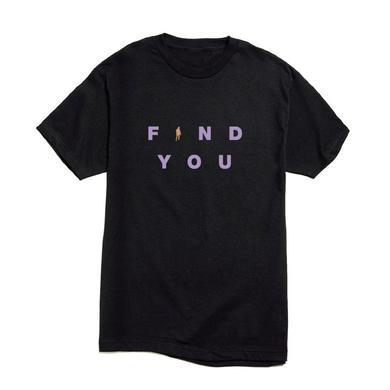 Nick Jonas Find You Bold T-shirt (Black) + Digital Single