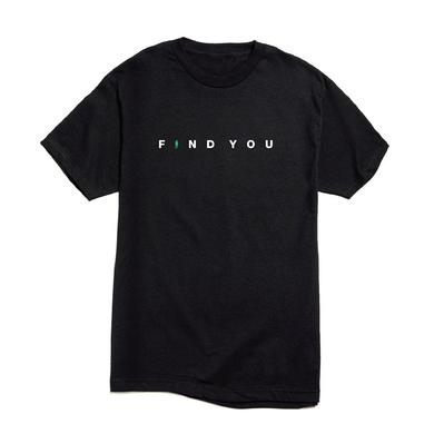 Nick Jonas Find You Logo T-shirt (Black) + Digital Single