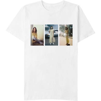Selena Gomez Color Photos White T-Shirt