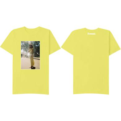 Selena Gomez Nightgown Yellow T-Shirt