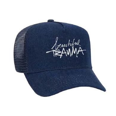 Pink Beautiful Trauma Mesh Cap