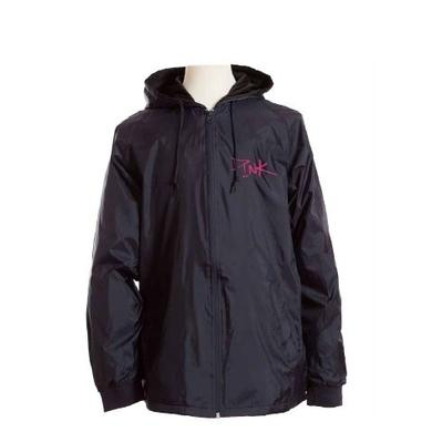 Pink PNK Embroider Blck Tech Jacket
