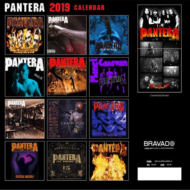 Pantera 2019 Calendar