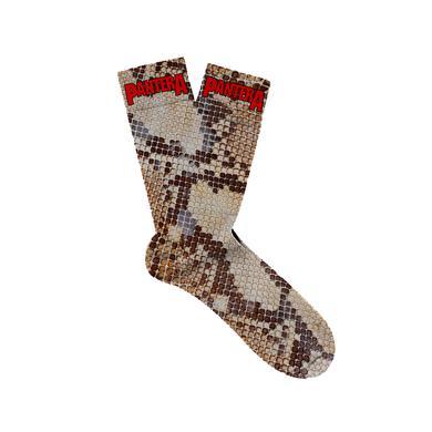 Pantera Snake Print Socks