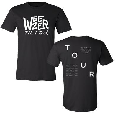 Weezer Till I Die Tour Tee