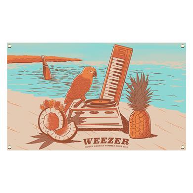 Weezer Beach Flag