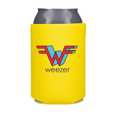 Weezer Yellow Koozie