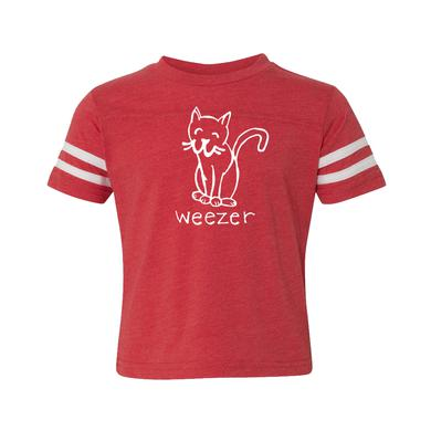 Weezer Kitty Cat Youth Tee