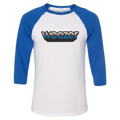 Weezer Blue Block Raglan