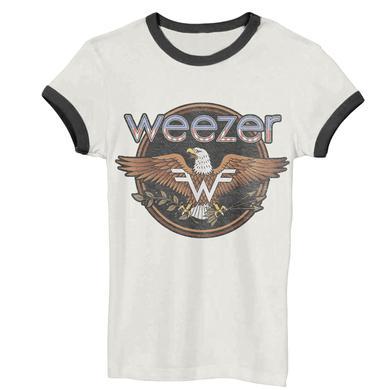 Weezer Eagle Black Ringer