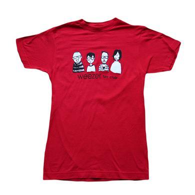 Weezer Red Fan Club Tee