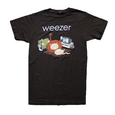 Weezer Brown Lion Tee