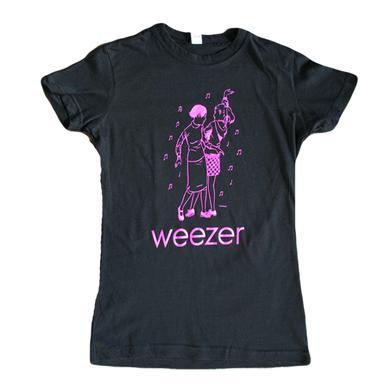 Weezer Ladies Dancers Black Tee