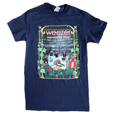 Weezer Navy Memories Tour Tee