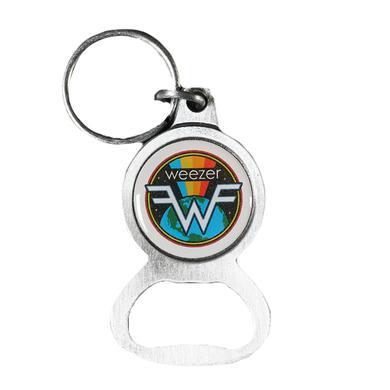 Weezer Globe Keychain
